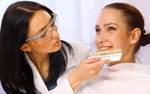 Beljenje zob pri zobozdravniku